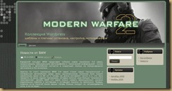 modernwarefare wordpress theme