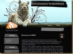 wildkitty wordpress theme